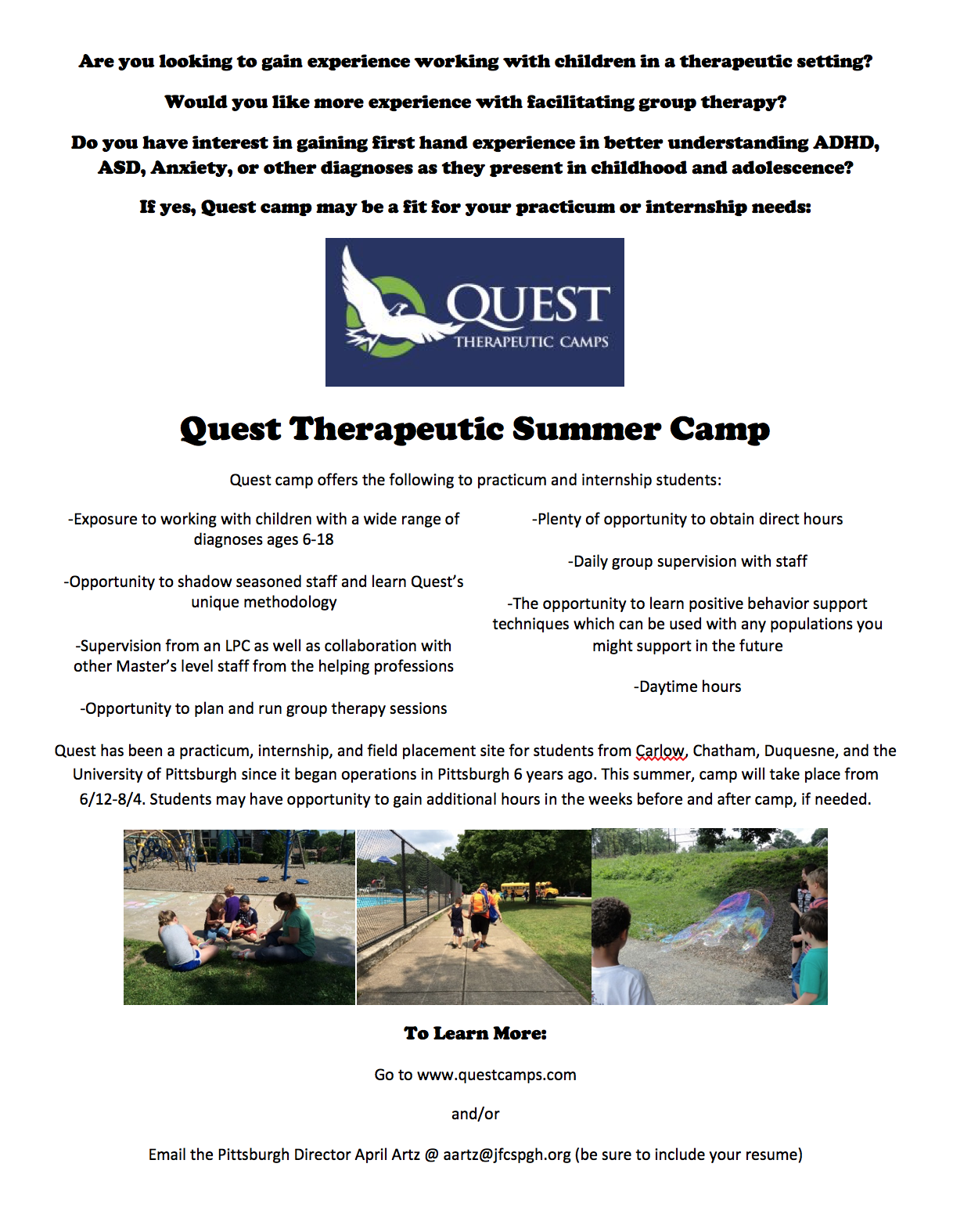 Quest Internship Flyer 2017 thumbnail
